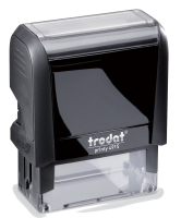 4915 Trodat Self-Inking Stamp 1 in. x 2-3/4 in, 4915 Trodat Printy  Trodat Self-inking. They are climate neutral, intuitive and clean replacement of ink pads, incredibly small & light.