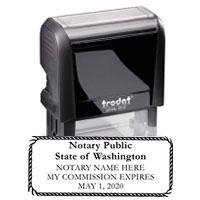 4915-43 - Washington Notary Stamp